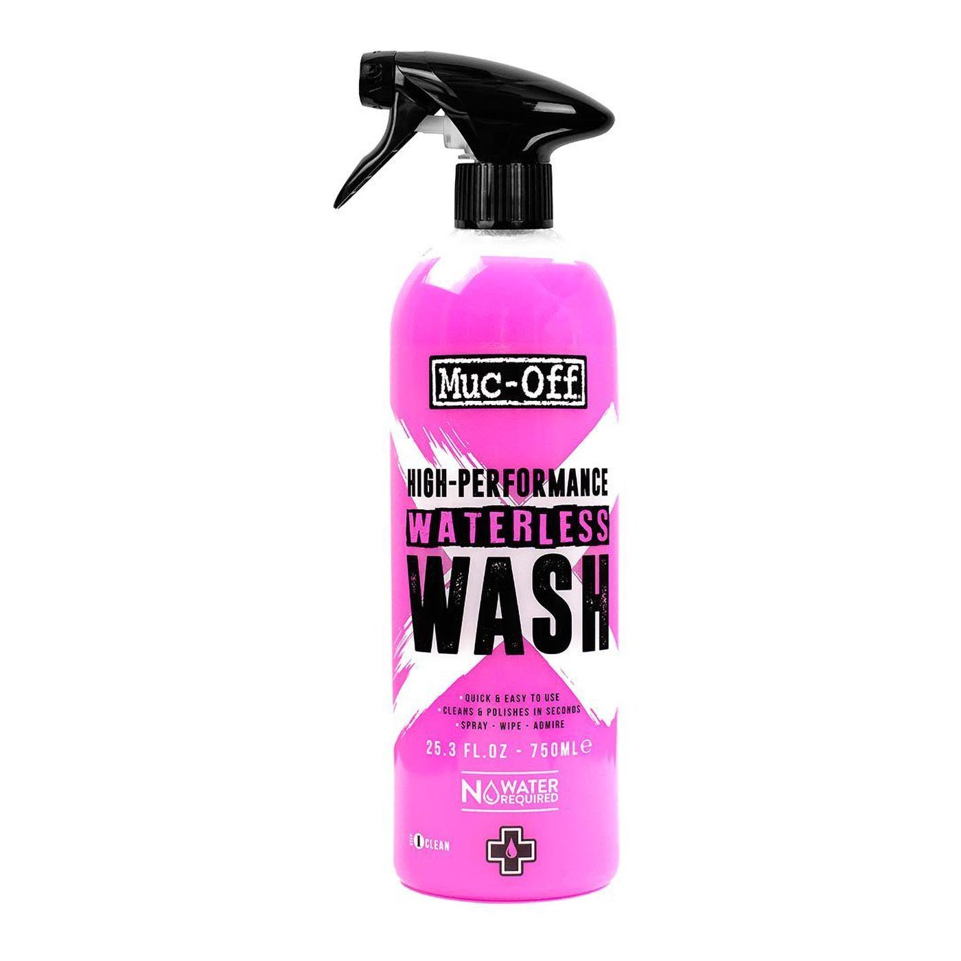 Muc-Off 750ML Waterless Wash on white background