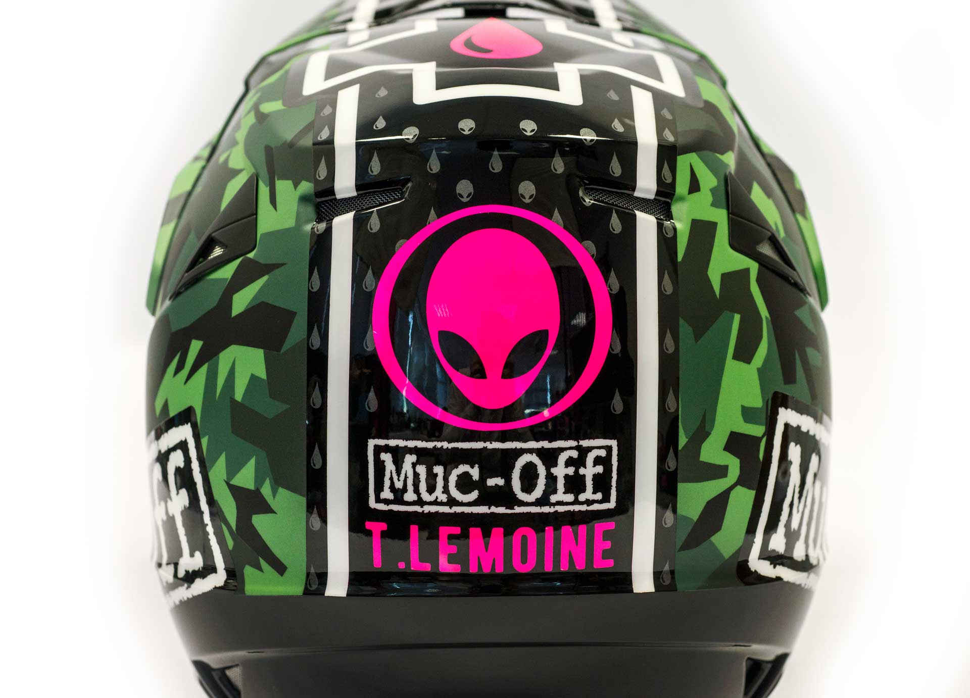 Muc-Off Motorcycle Helmet