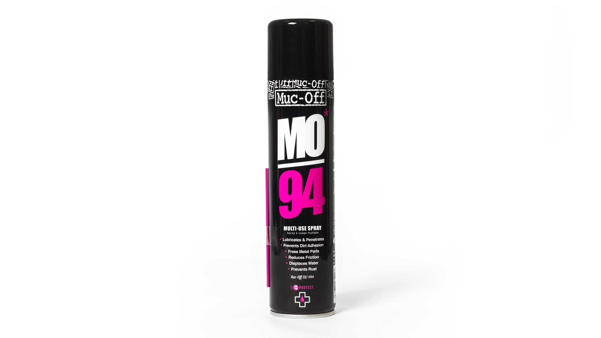 Can of MO94 on white background