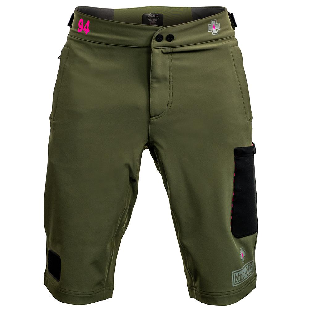 Muc-Off Technical Riders Shorts Polartec Green