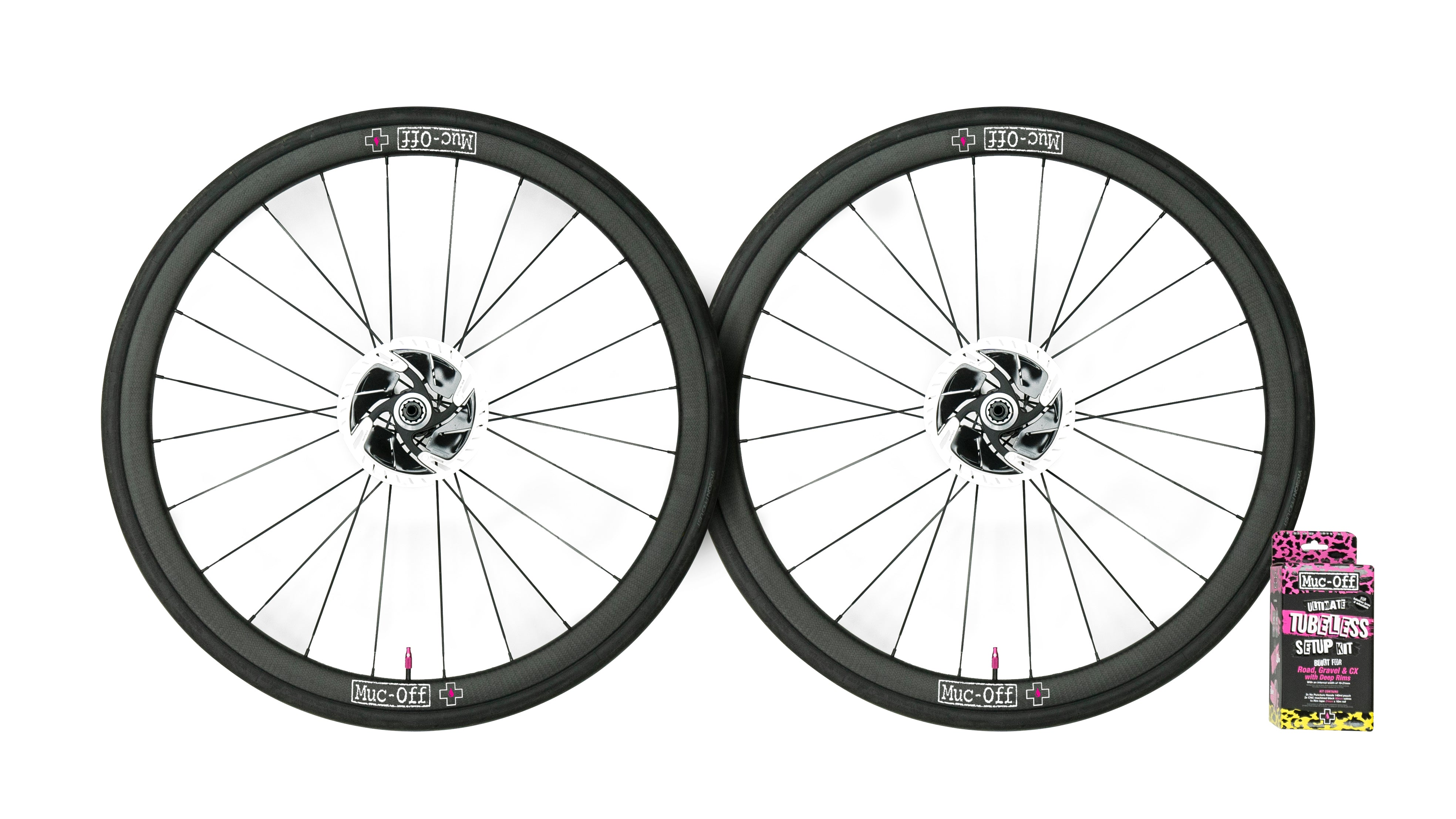 Muc-Off Tubeless Road Wheel set