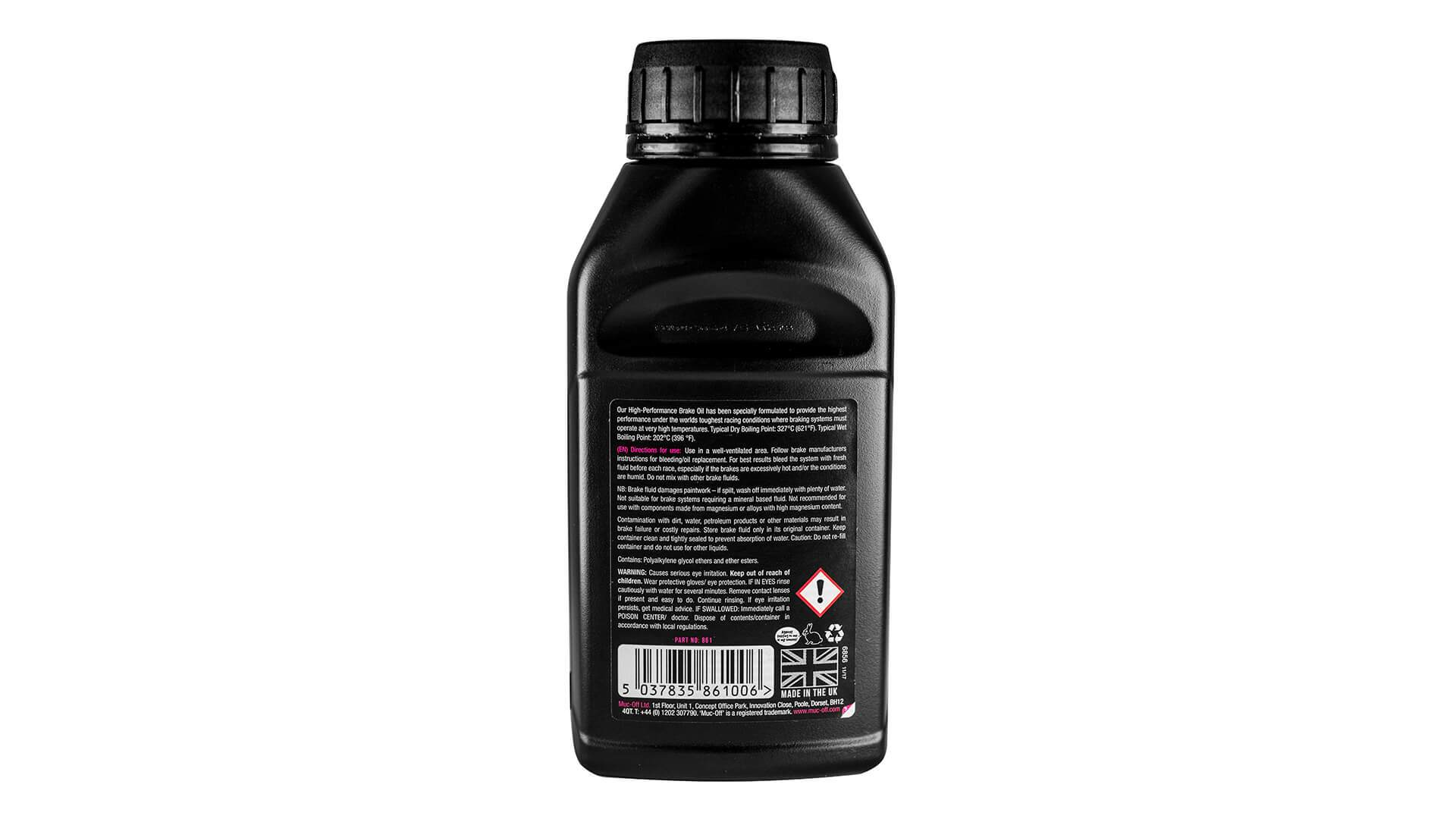 High-Performance Brake Oil - Dot 4