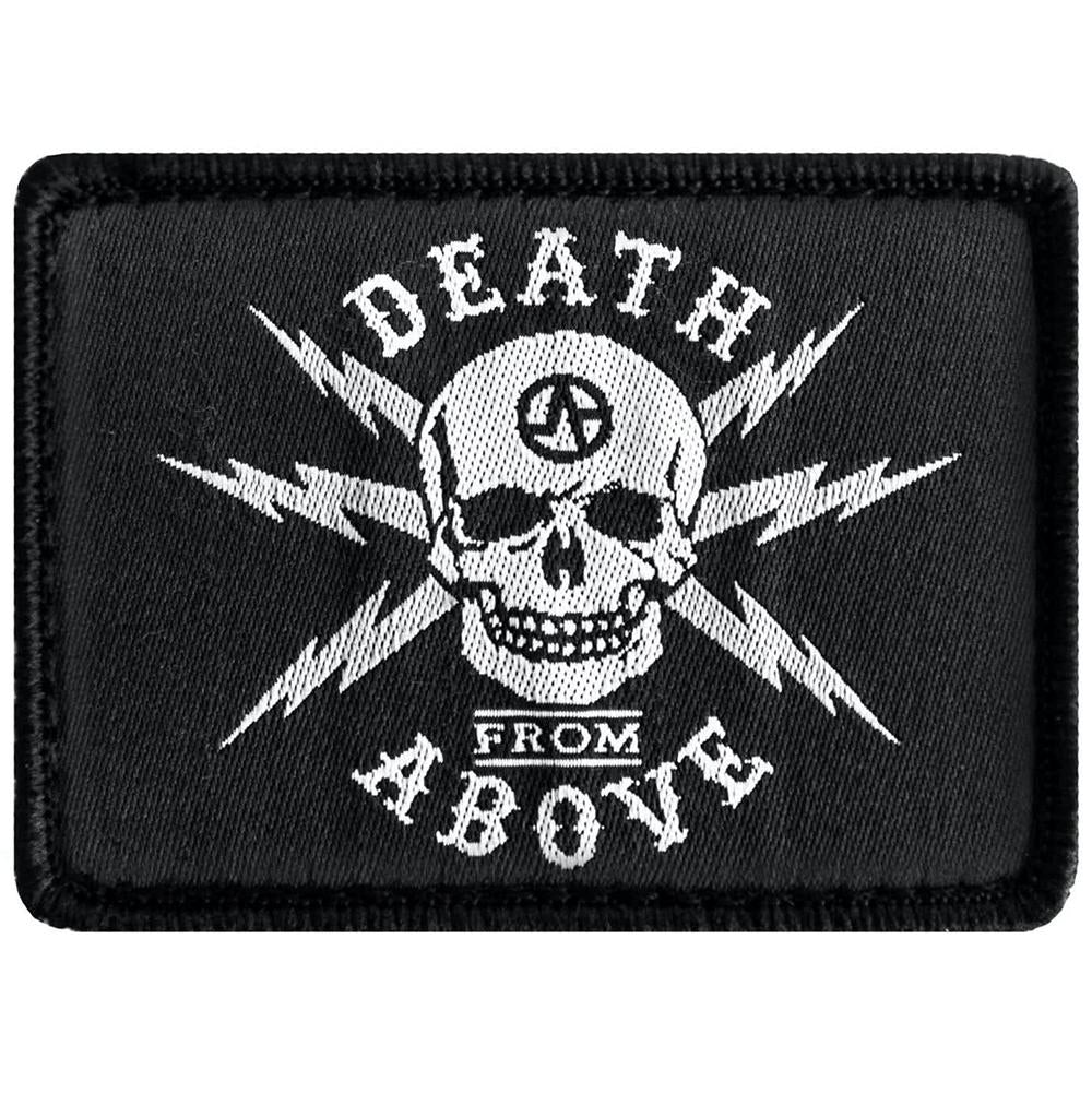 Death from above patch up close