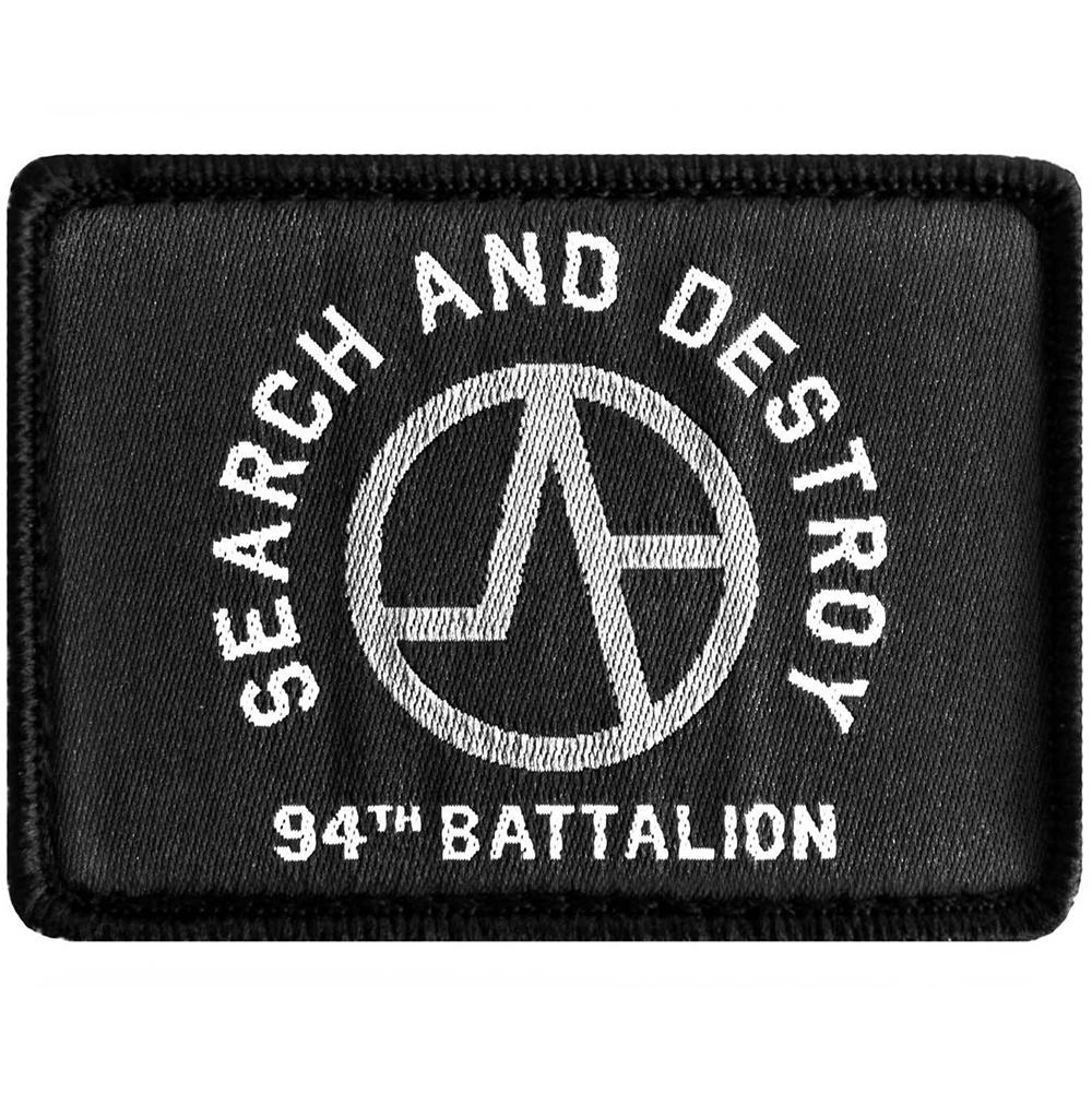 Search and destroy patch up close