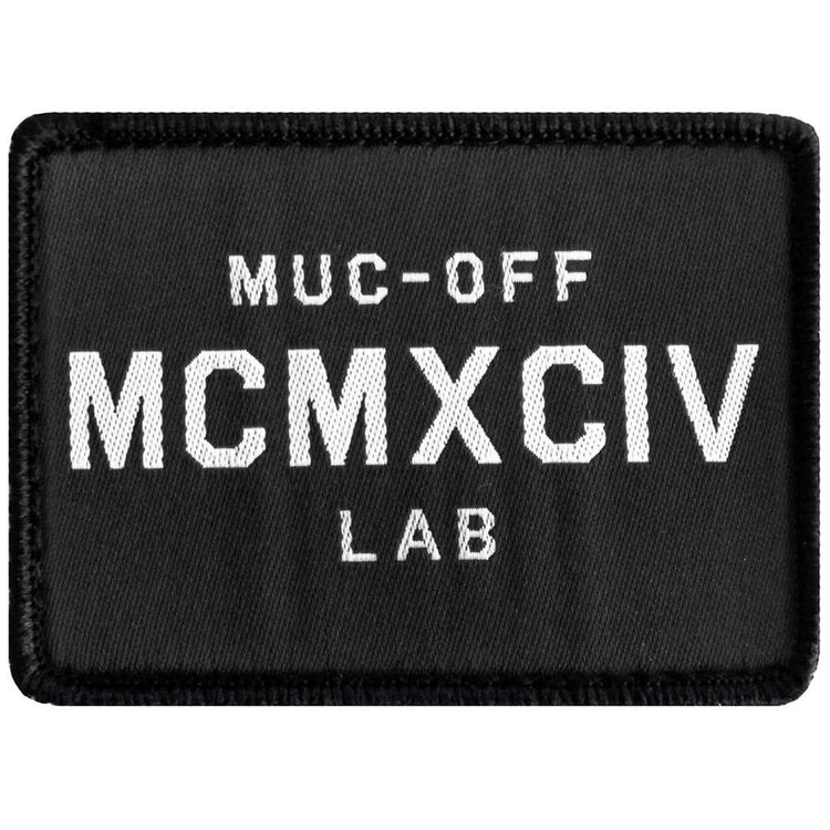 Muc-off MCMXCIV patch up close