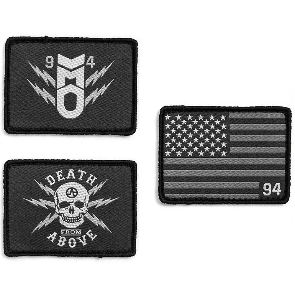 Patch Pack Stars & Stripes, Death from Above & 94 Bomb