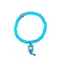 "Kid's ""Mermaid at Heart"" Bracelet"