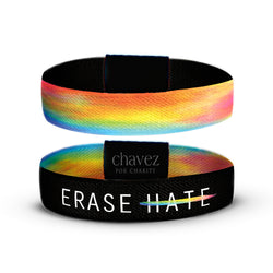 Erase Hate Stretch Fabric Reversible Band