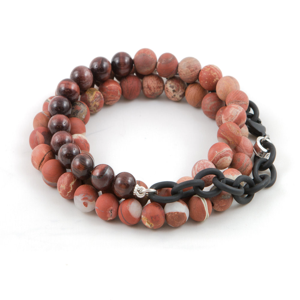 Men's Tiger Eye Counting Beads