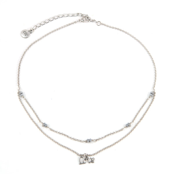 """Lovely Layered"" Choker Necklace"