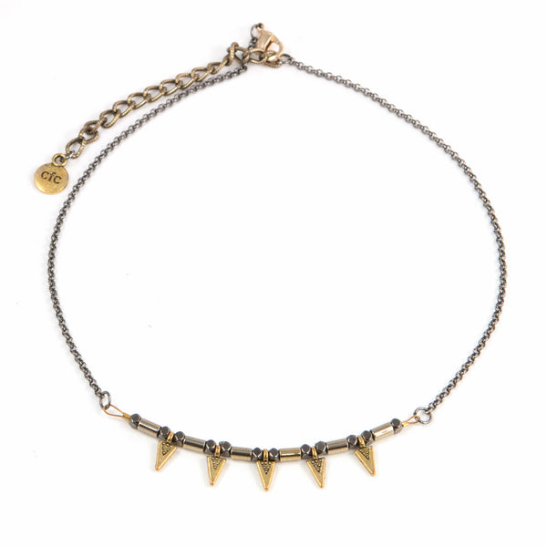 """Edgy Glam"" Choker Necklace"