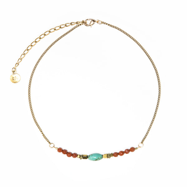 """Wanderlust"" Choker Necklace"