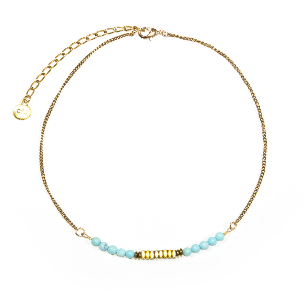 """Seas the Day"" Choker Necklace"