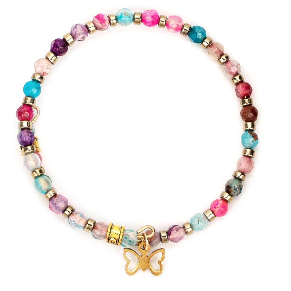 """Follow Your Butterflies"" Wrap Bracelet"