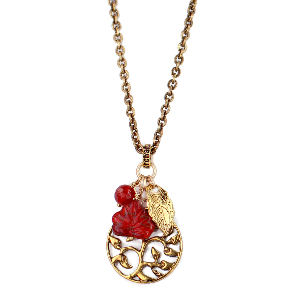"Apple ""Tree of Life"" Necklace"