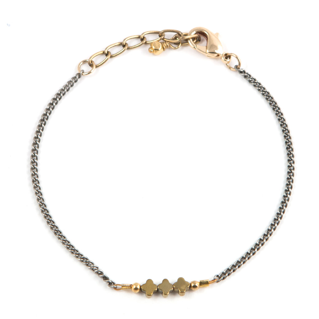 daily with dotted white topaz dose pretty fill gems bracelet filled gold of