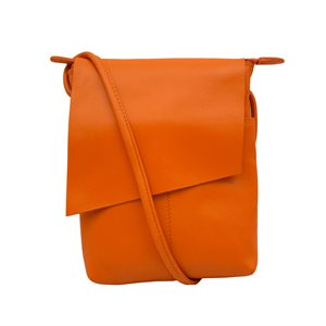 Leather Flap Cross Body - Tres Chic Houston