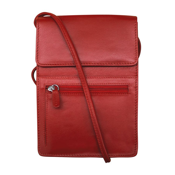 Leather Cross Body Organizer