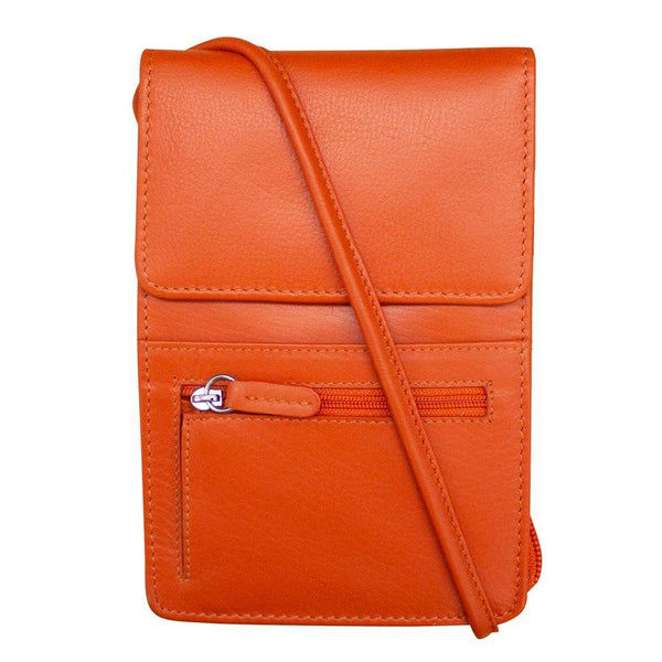 Leather Cross Body Organizer - Tres Chic Houston