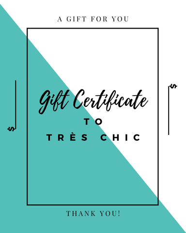 Gift Card - Tres Chic Houston