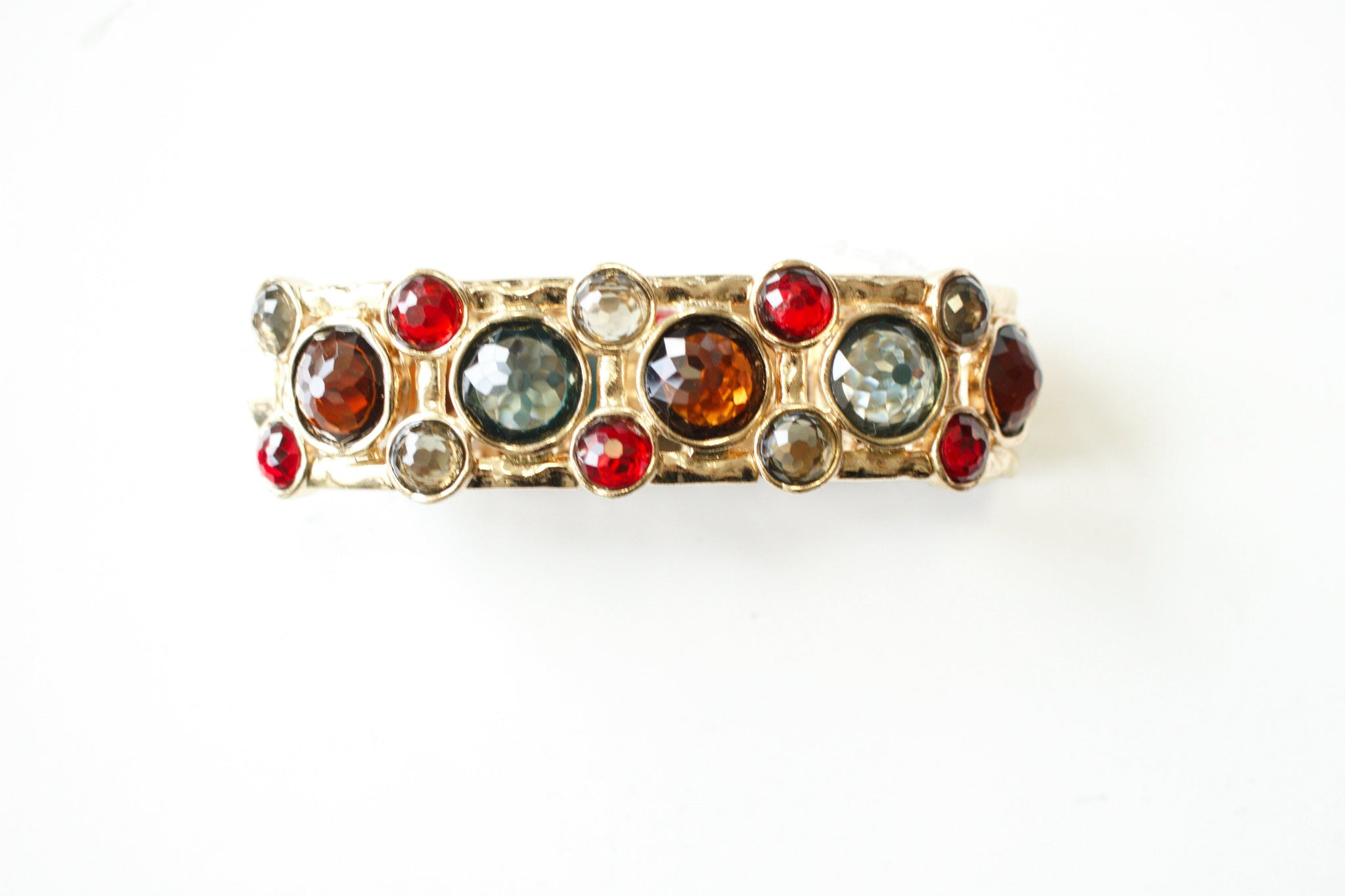 Gem Encrusted Bracelet - Tres Chic Houston
