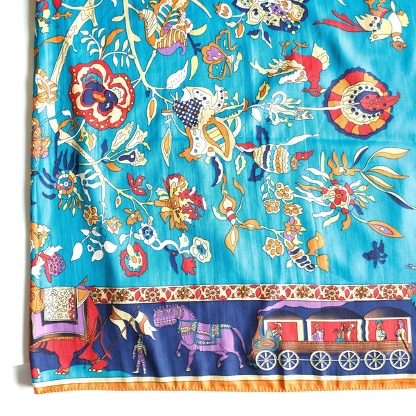 Circus Large Square Scarf - Tres Chic Houston
