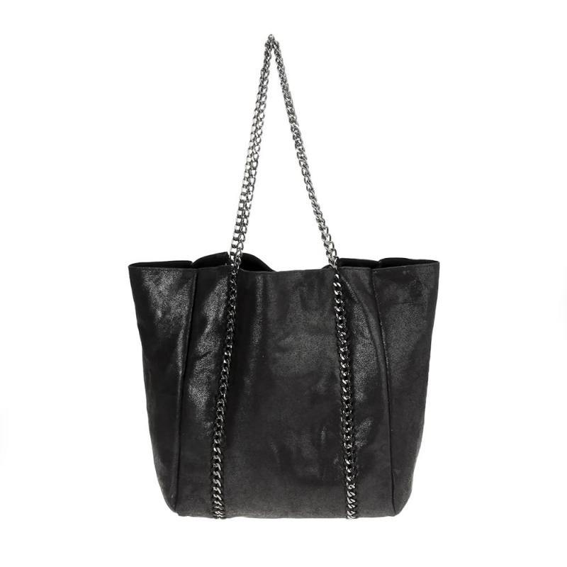 Chain Detailed Tote - Tres Chic Houston