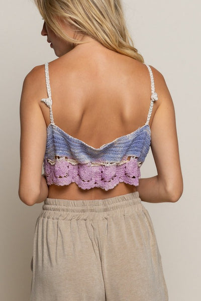 Cotton Candy Crop Top