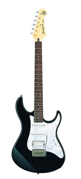 Yamaha Pacifica Series PAC012 Electric Guitar; Black - iPickGuitar
