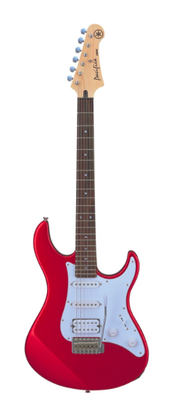 Yamaha Pacifica Series PAC012 Electric Guitar; Metallic Red - iPickGuitar