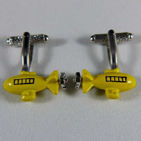08 - Submarine Cufflink Set
