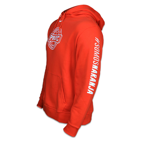 Nike Club Fleece Hoody Orange
