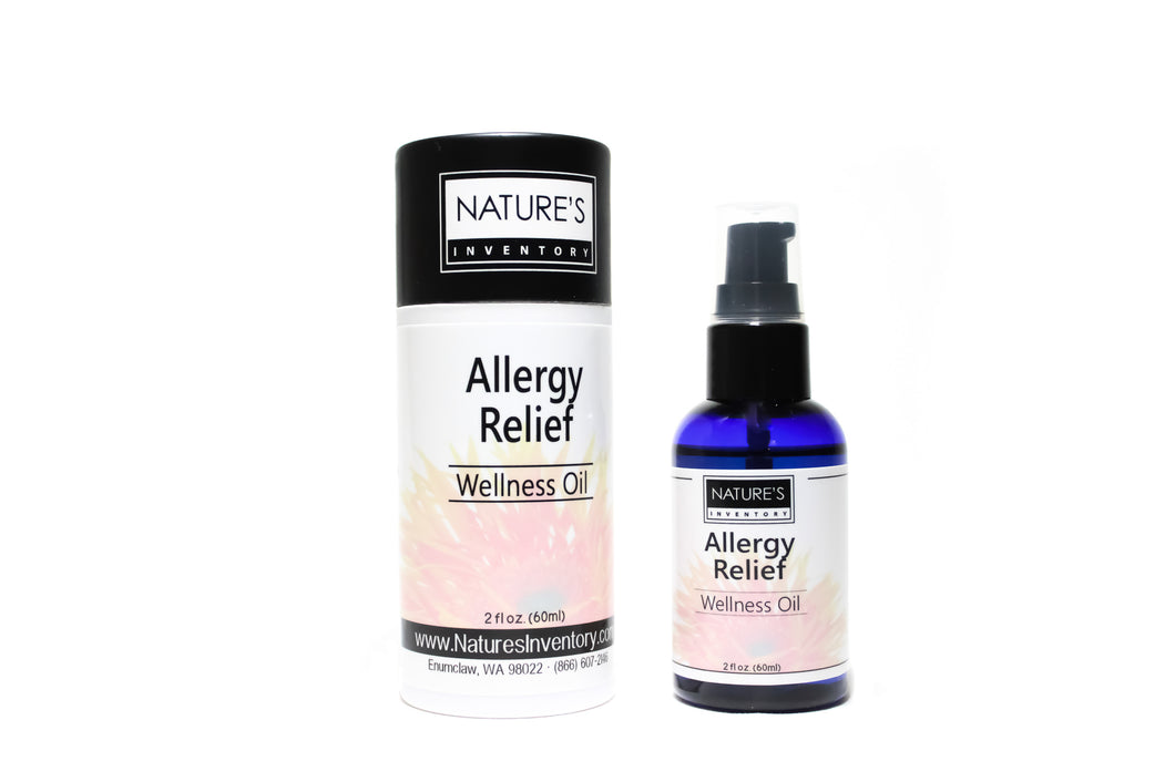 Allergy Relief Wellness Oil