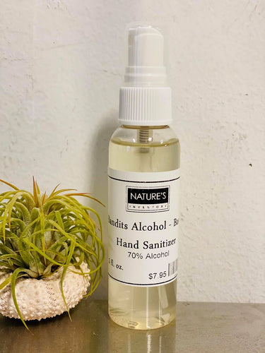 Bandits Hand Sanitizer - 70% alcohol