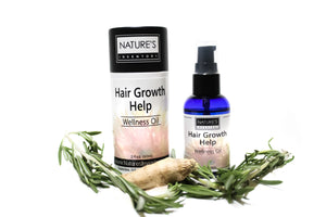 Hair Growth Help Wellness Oil