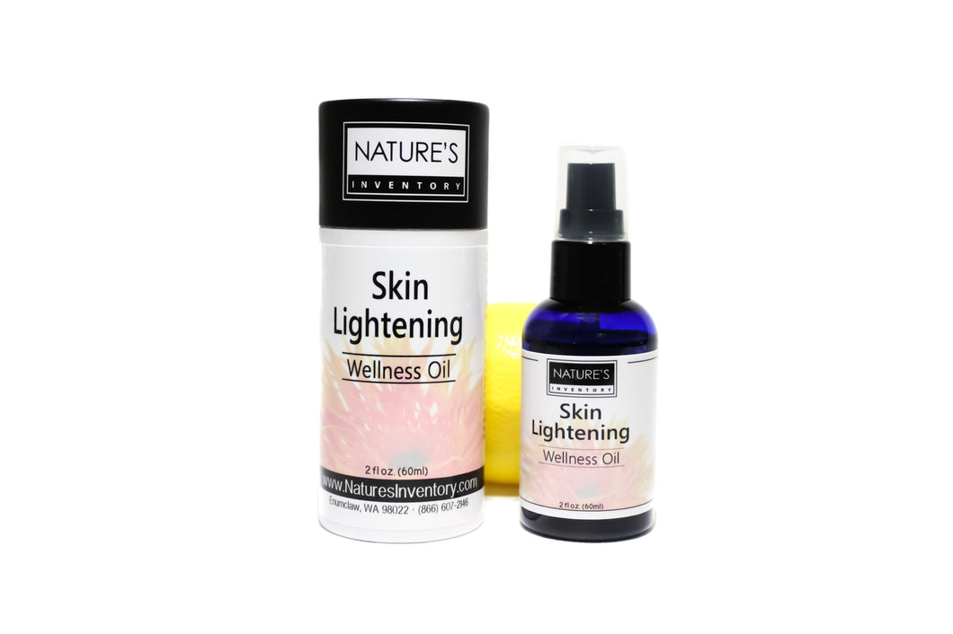 Skin Lightening Formula Wellness Oil
