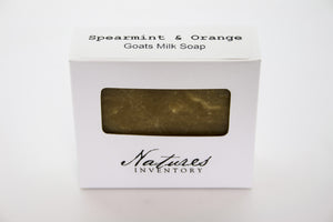 Spearmint & Orange Goats Milk Soap