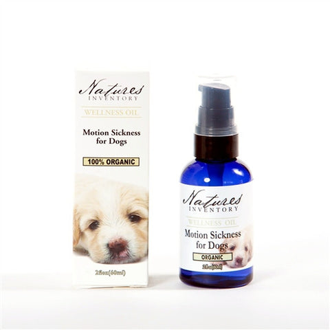 Motion Sickness for Dogs Wellness Oil