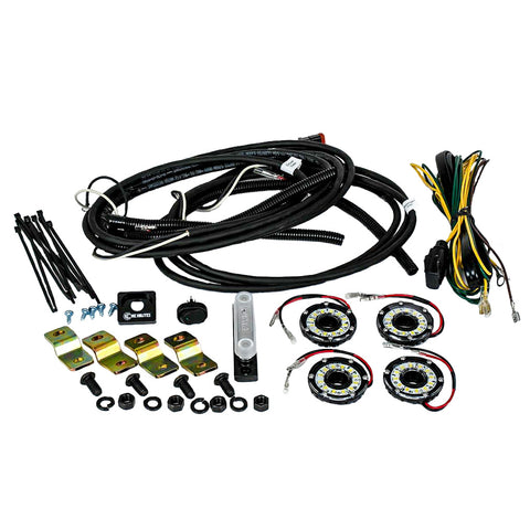 CYCLONE LED ROCK LIGHT KIT FOR 07-18 JEEP JK