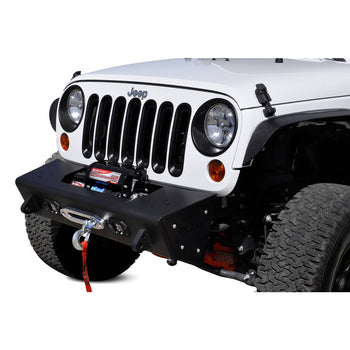 ADD 07-18 Wrangler JK Stealth Fighter Front Bumper w/ Tow Hooks