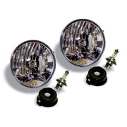 "7"" HALOGEN H4 DOT HEADLIGHT PAIR PACK SYSTEM"