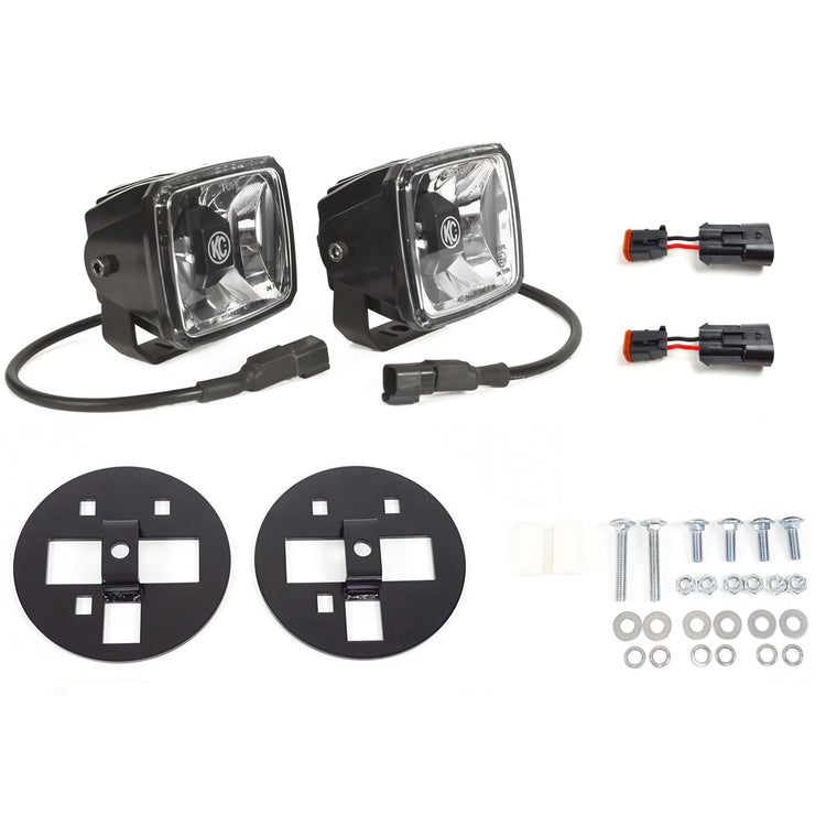 GRAVITY® LED G34 CHEVY 2500/3500 FOG LIGHT PAIR PACK SYSTEM