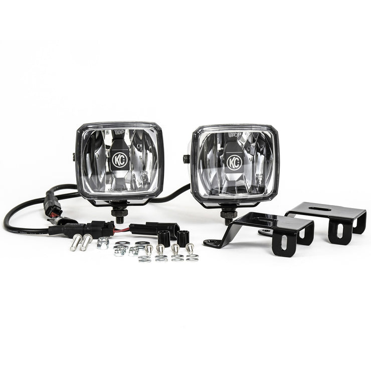 GRAVITY® LED G34 FORD SUPER DUTY FOG LIGHT PAIR PACK SYSTEM