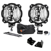 GRAVITY® LED PRO6 SINGLE JEEP JK A-PILLAR KIT