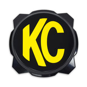 KC GRAVITY® PRO6 BLACK LIGHT COVER WITH YELLOW KC LOGO