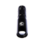 LED FLASHLIGHT ADJUSTABLE FOCUS - BLACK