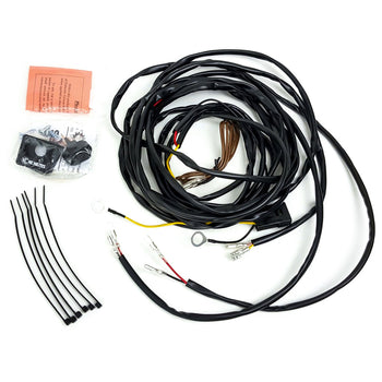 UNIVERSAL WIRING HARNESS FOR 2 CYCLONE LED LIGHTS