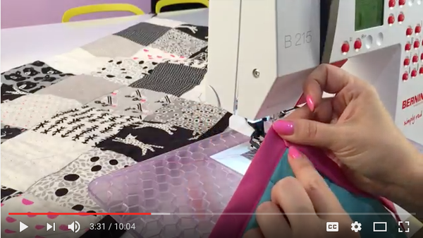 DIY Video: Quilt Binding on a Machine!