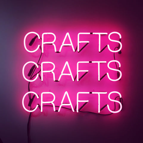 Brooklyn craft company neon sign crafts crafts crafts