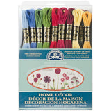 DMC Home Decor Colors 36 Skein Floss Pack